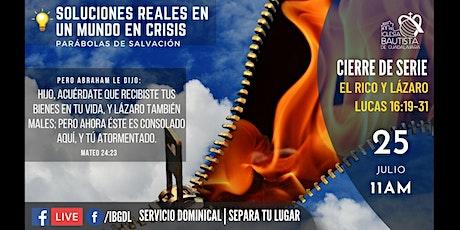 Servicio Dominical 25-07-2021 boletos