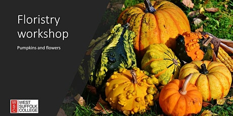 Floristry workshop -   A Halloween treat: pumpkins and flowers tickets