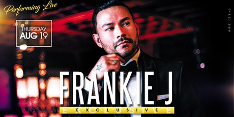Frankie J. performing live! tickets