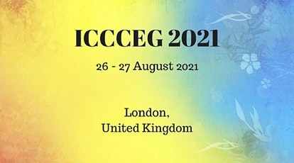 International Conference on Cloud Computing and eGovernance 2021 tickets