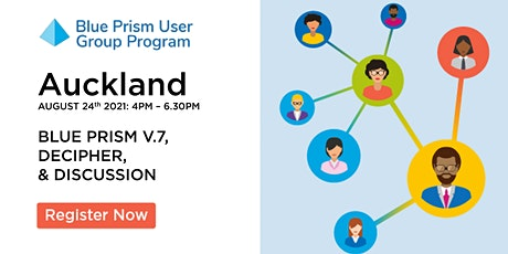 Blue Prism Auckland User Group - Community Event & Networking tickets
