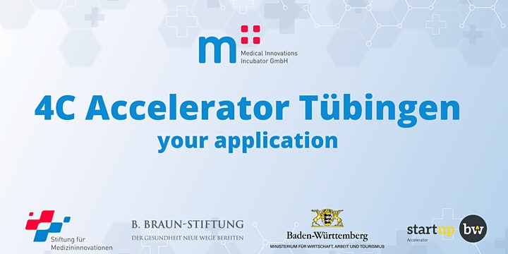 Application - 4C Accelerator Tübingen image