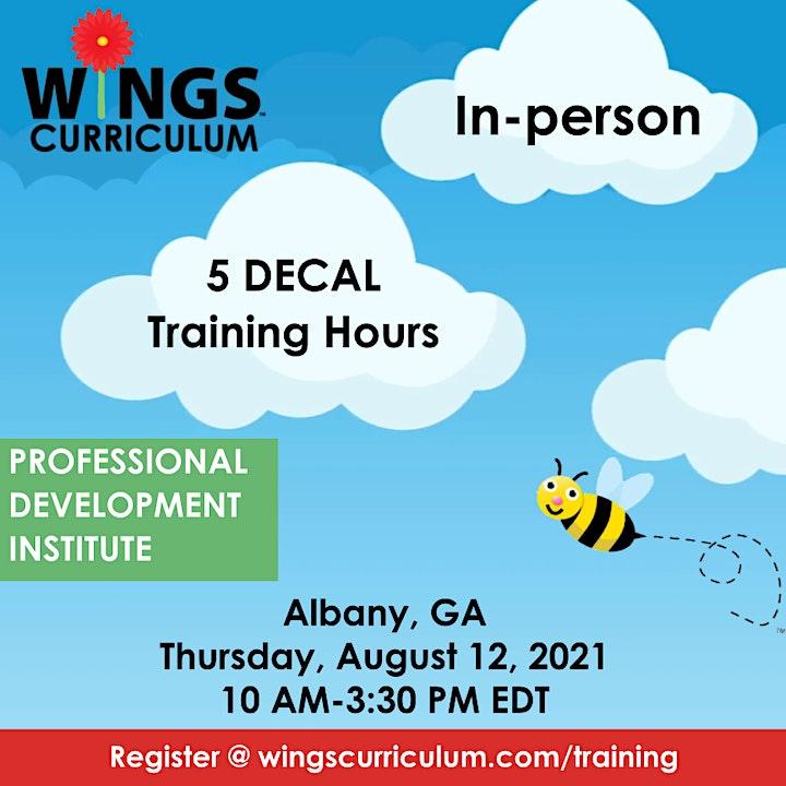 WINGS Curriculum Professional Development Institute - Albany, GA image