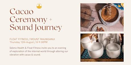 Cacao Ceremony + Sound Bath tickets