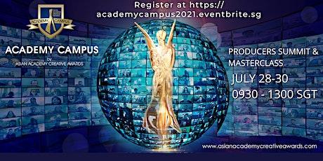 AAA Academy Campus 2021 Producer Summit & Masterclass (Online) tickets