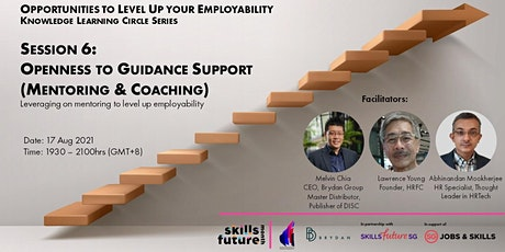 Opportunities to Level Up your Employability Masterclass Session 6 tickets