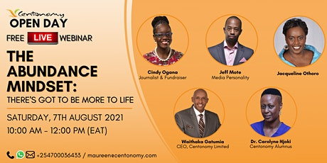 THE ABUNDANCE MINDSET: There's Got To Be More To Life tickets
