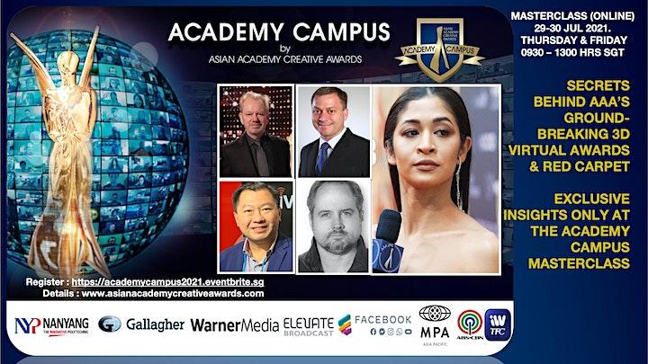 AAA Academy Campus 2021 Producer Summit & Masterclass (Online) image
