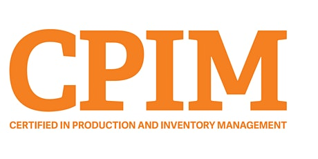 APICS Certified Production and Inventory Management (CPIM) online training tickets