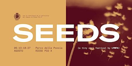 SEEDS: a tiny cosy music festival @ Parco della Poesia biglietti
