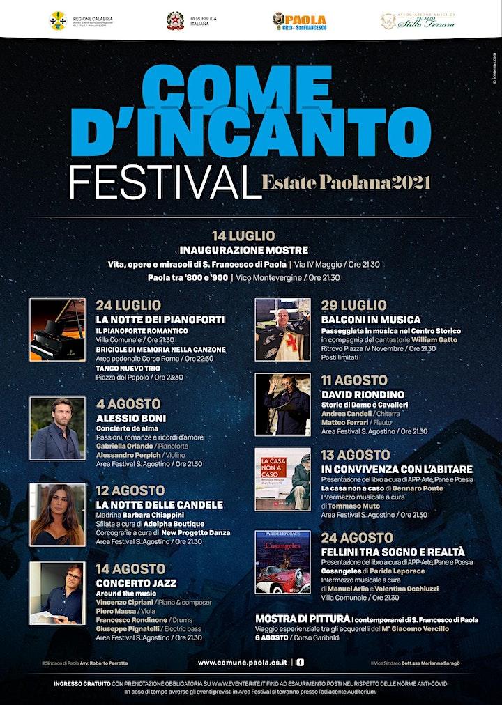 Immagine Come d'incanto Festival- ALESSIO BONI in Concierto de Alma