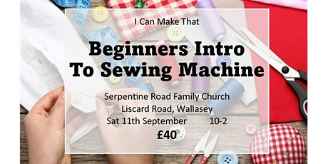 Beginners Intro To The Sewing Machine tickets
