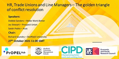 HR, Trade Unions & Line Managers-the golden triangle of conflict resolution tickets