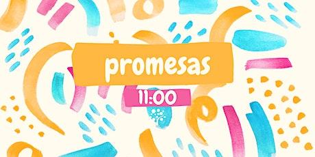 """Reunión niños """"Promesas"""" 11:00 entradas"""