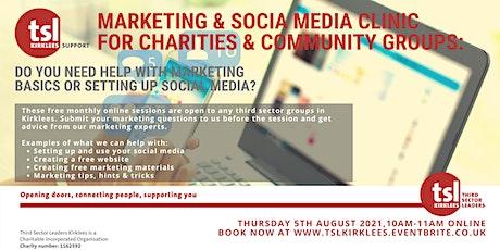 TSL Kirklees Marketing & Social Media Clinic tickets