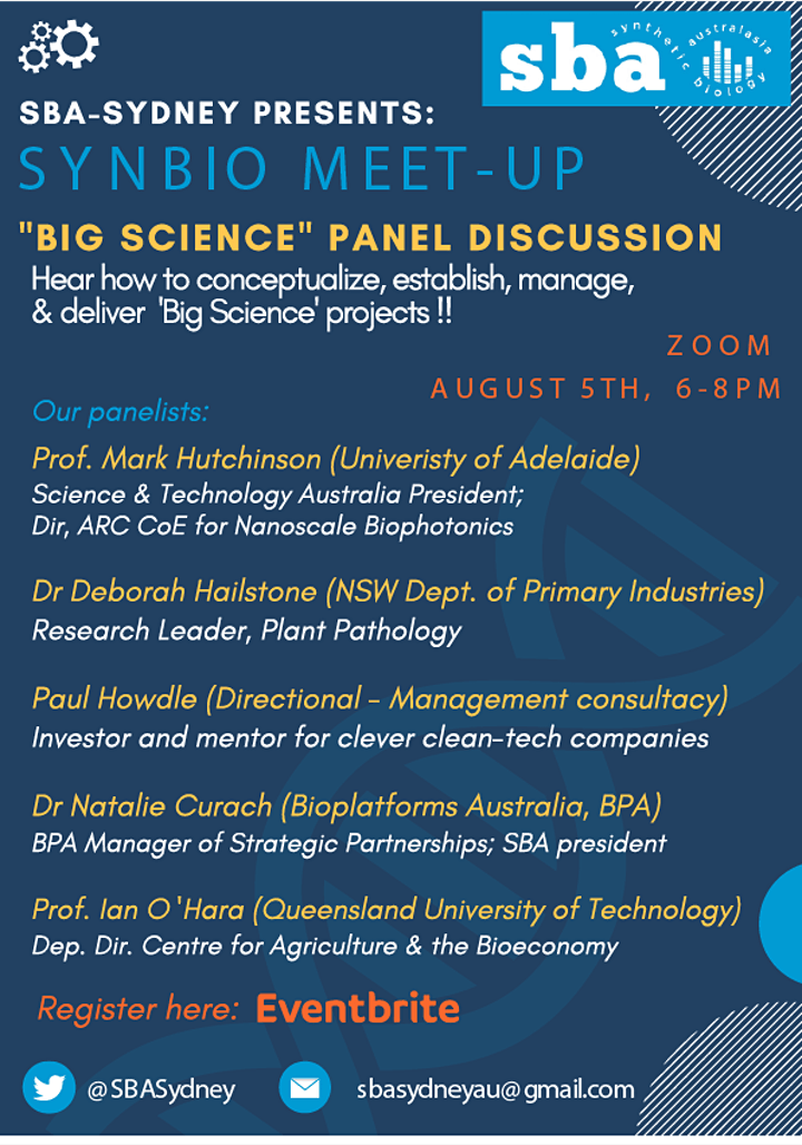 'Big Science' panel discussion - Funding and Collaborations image
