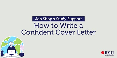 Job Shop x Study Support: How to Write a Confident Cover Letter tickets