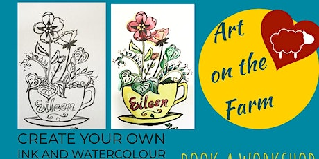 Watercolour Plants and Flowers workshop tickets