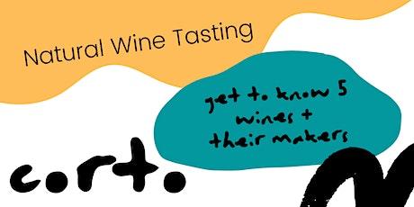 Natural Wine Tasting tickets