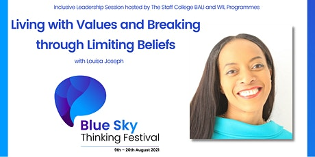 Living with Values and Breaking through Limiting Beliefs tickets