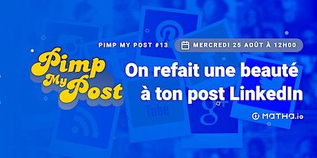 Pimp My Post#13 avec Matha.io billets