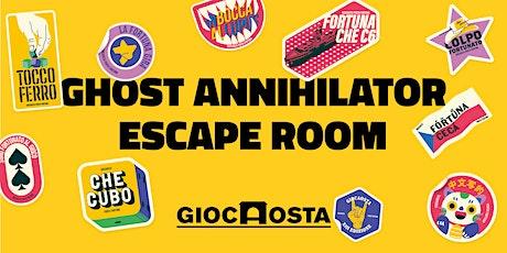 Ghost Annihilator - Escape room biglietti