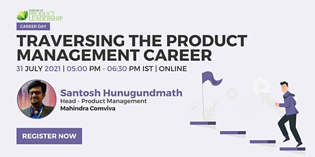 Industry Connect on Traversing the Product Management Career tickets