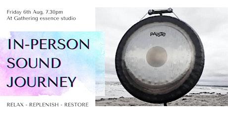 Sound journey at gathering essence - relax, replenish, restore tickets