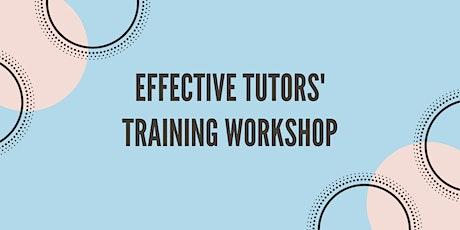 4 hrs Effective Tutors' Training Workshop tickets