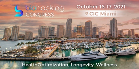 BiohackingCongress in Miami, Onsite Event with Live Stream tickets