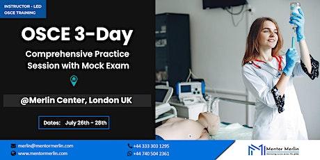 NMC OSCE 3-Days Training at Merlin Centre London UK tickets