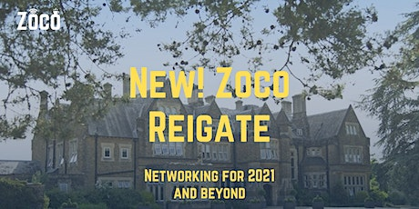Zoco Reigate In-Person Meeting tickets