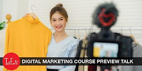 Digital Marketing Preview Talk tickets