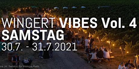 Wingert Vibes Vol. 4 2021 //  SAMSTAG Weingut Reith Tickets