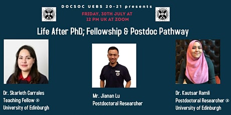Life after a PhD: Postdoc Careers tickets