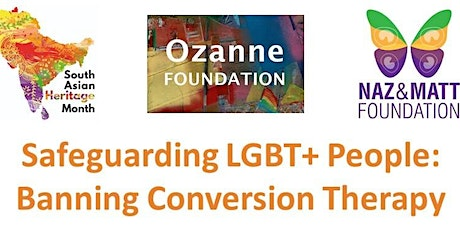 Safeguarding the South Asian LGBT+ Community - Banning Conversion Therapy tickets