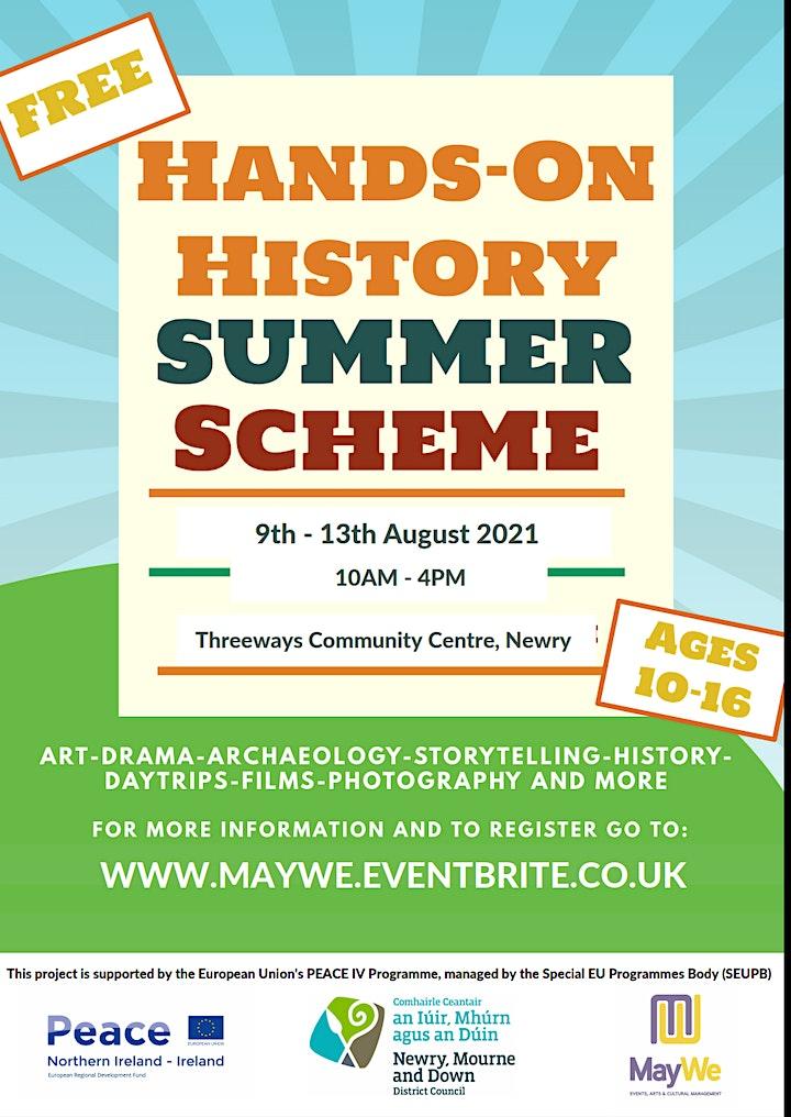 Hands-on History Summer Scheme image