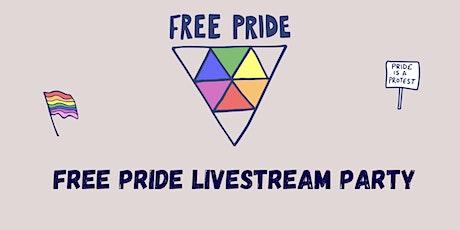 Free Pride Livestream Party tickets