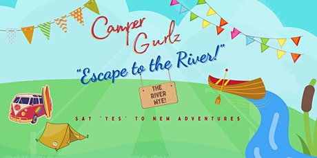 """Under 40s (ish) """"Escape to the River!""""  September 17-19 tickets"""