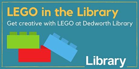LEGO in the Library tickets