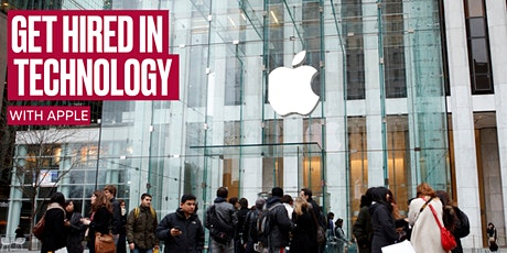 Get Hired in Technology with Apple tickets