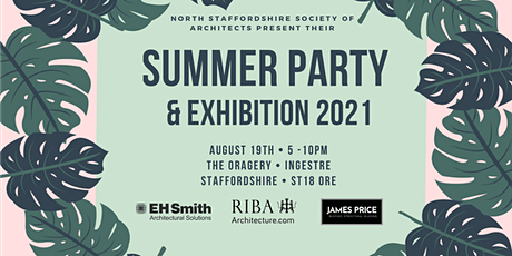 North Staffordshire Society of Architects Summer party tickets