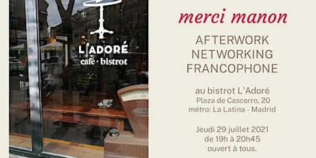Dernier afterwork networking francophone entradas
