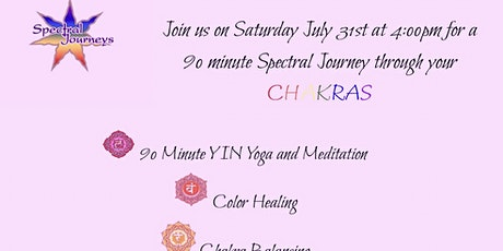 Spectral Journeys Colorgized Yoga Master Class tickets