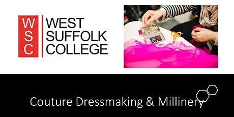Couture Dressmaking and Millinery - Thursday Evening tickets