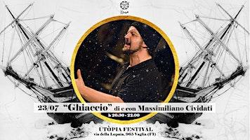 Spettacolo  Ghiaccio di e con Massimiliano Cividati