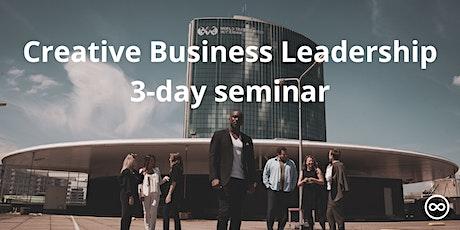 Creative Business Leadership (3-day seminar) tickets