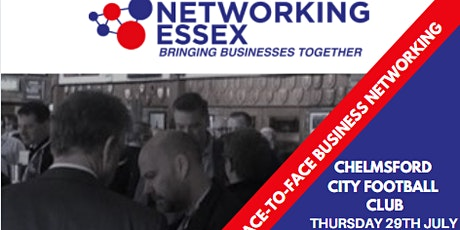 (FREE) Networking Essex Chelmsford Thursday 29th July 12pm-2pm tickets