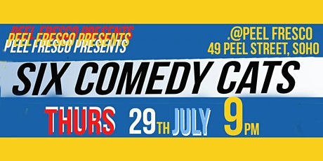 Six Comedy Cats tickets