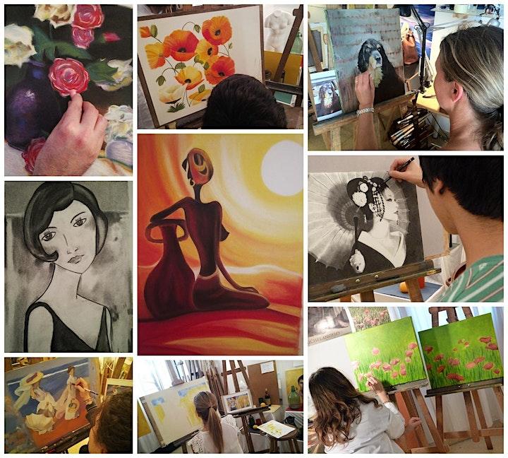 Imagen de Curso Dibujo y Pintura Curso 21-22 Palma de Mallorca Academia Renacimiento